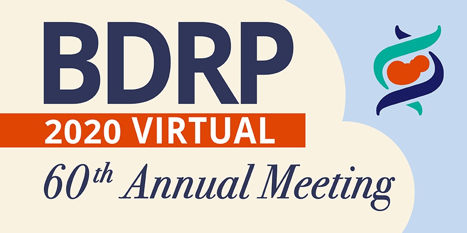 BDRP 2020 Virtual Annual Meeting logo